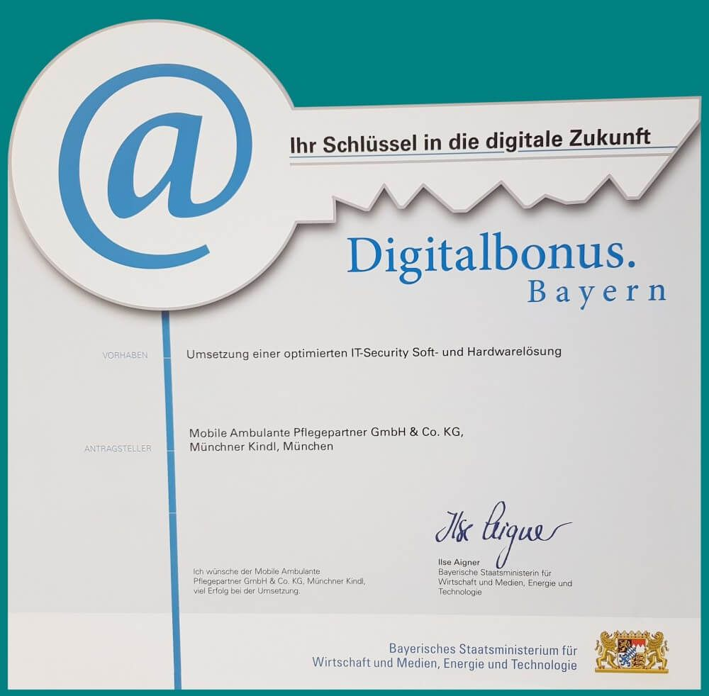 Auszeichnung-Digitalbonus
