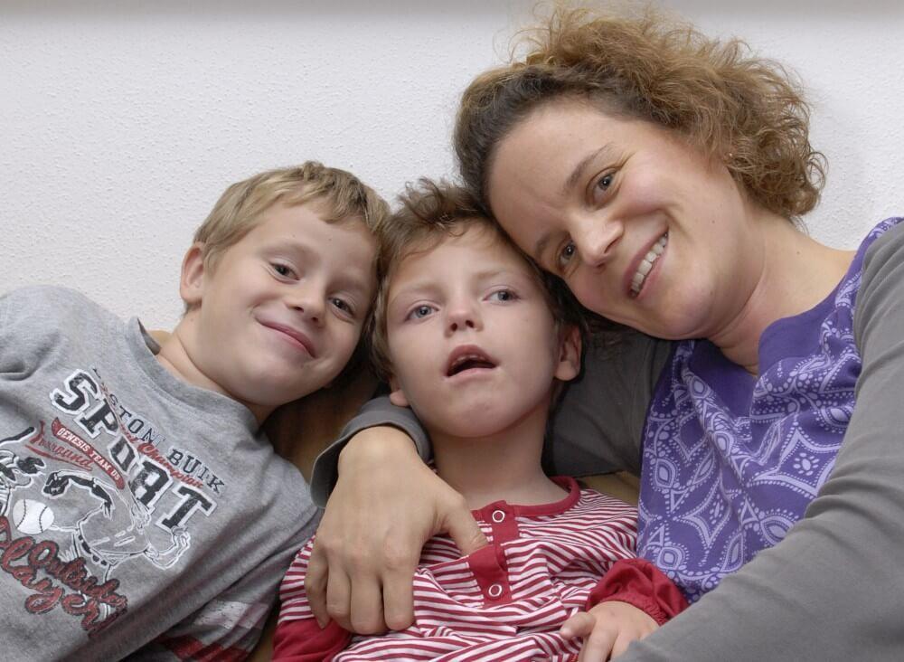Charlotte mit Familie